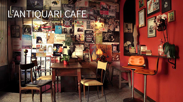 L'antiquari Cafe in Mallorca