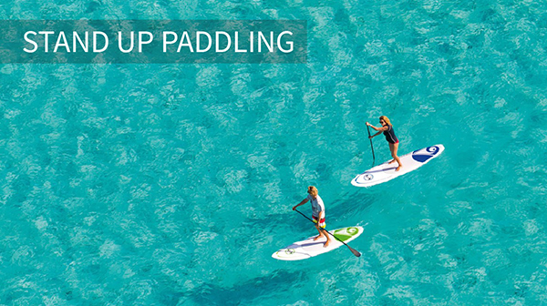 Stand up Paddling in Mallorca